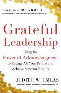 Grateful Leadership using the power of acknowledgement