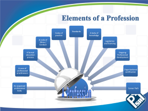 project management as a profession