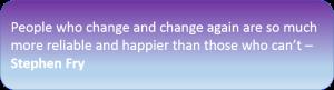 Agile - change