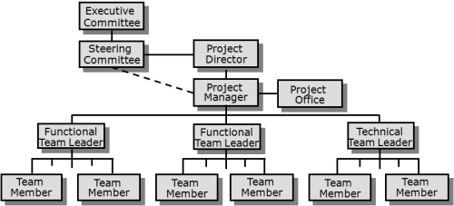 How to structure a project team