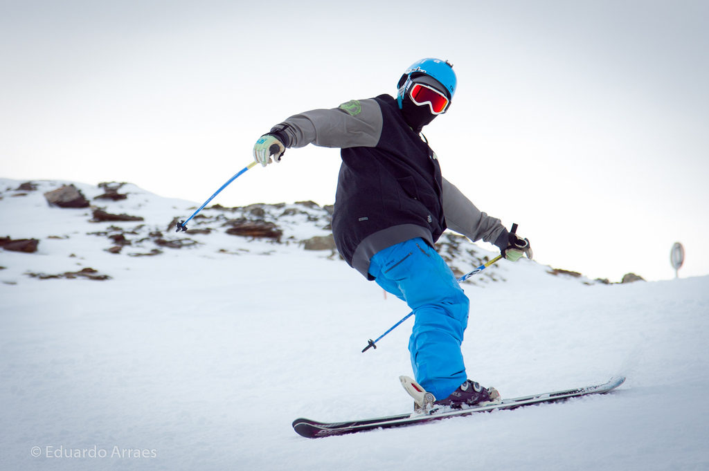 South Pole ski