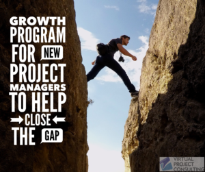 Growth Program for New Project Managers to Help Close the Talent Gap